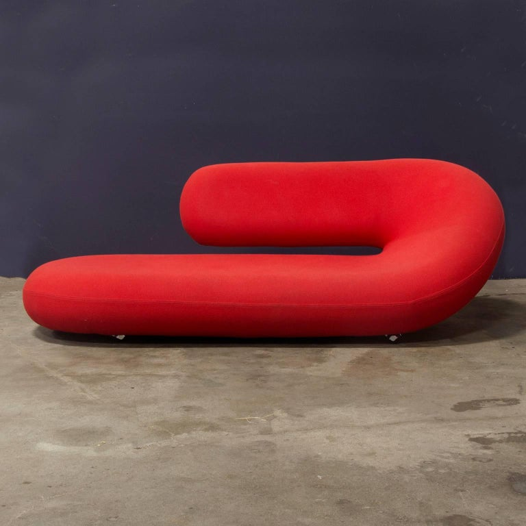 1970 geoffrey harcourt chaise longue cleopatra in for Artifort cleopatra chaise longue