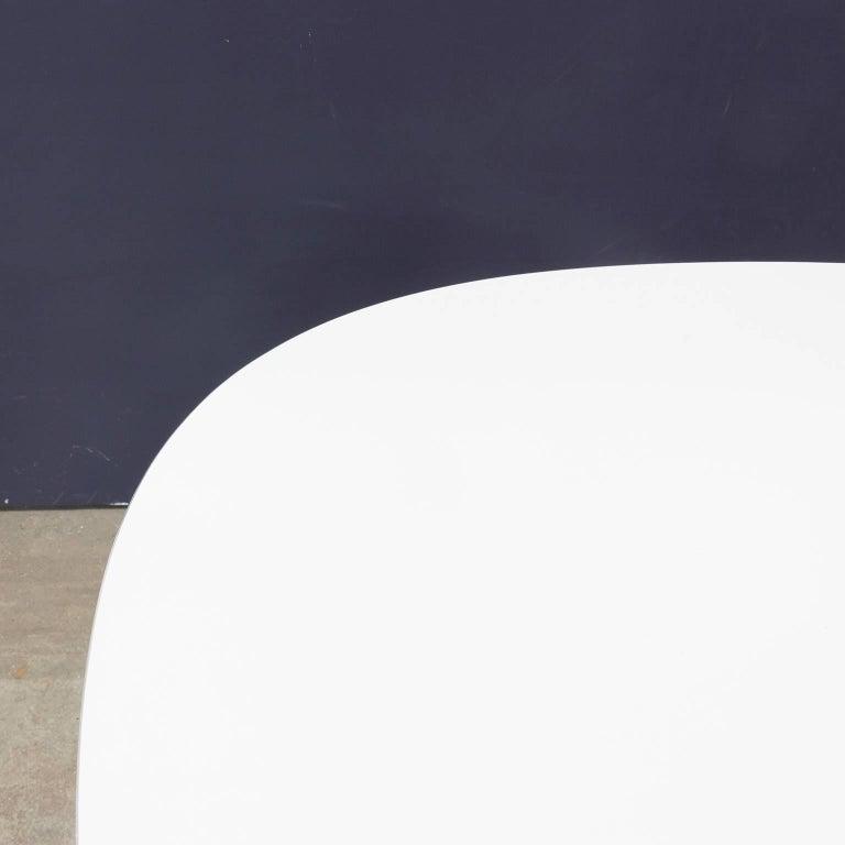 Danish 1968 Arne Jacobsen Piet Hein Dining Table Circular Series Six Star Pedestal Base For Sale