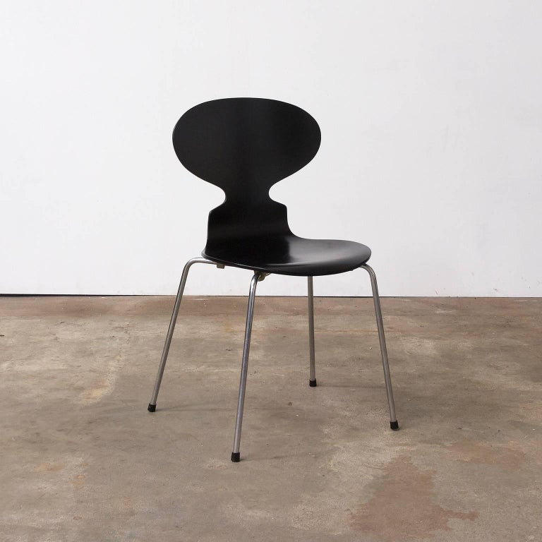1952 Arne Jacobsen Ant Chairs Repainted By Piece Or As A Set For