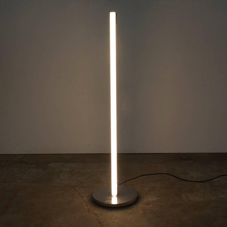 Mid-Century Modern 1927, Eileen Gray for ClassiCon, Floor Lamp Tube Lamp For Sale