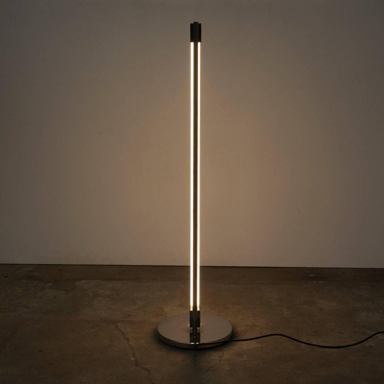 English 1927, Eileen Gray for ClassiCon, Floor Lamp Tube Lamp For Sale