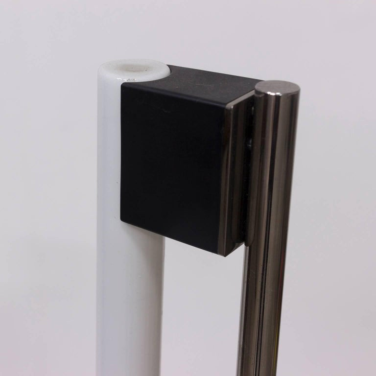 1927, Eileen Gray for ClassiCon, Floor Lamp Tube Lamp In Good Condition For Sale In Amsterdam, North Holland