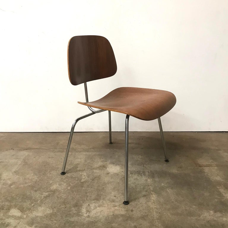 1946, Ray and Charles Eames for Herman Miller, Dcm Chair in Wooden ...