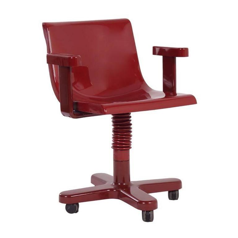 1973 Ettore Sottsass Olivetti Synthesis Desk Chair At 1stdibs