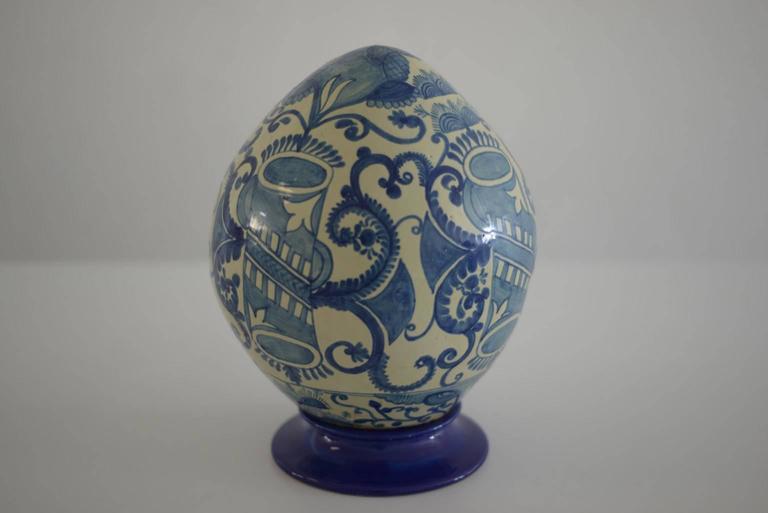 Baroque Mexican Colorful Ceramic Talavera Decoration Eggs For Sale