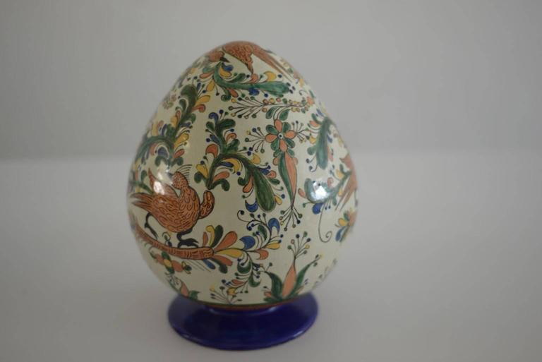 Hand-Painted Mexican Colorful Ceramic Talavera Decoration Eggs For Sale