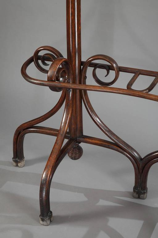 late 19th century thonet double coat rack art nouveau period at 1stdibs. Black Bedroom Furniture Sets. Home Design Ideas