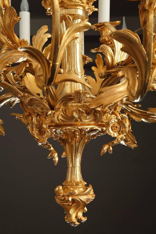 Rocaille chandelier with twenty four light branches at 1stdibs - Chandelier a 5 branches ...