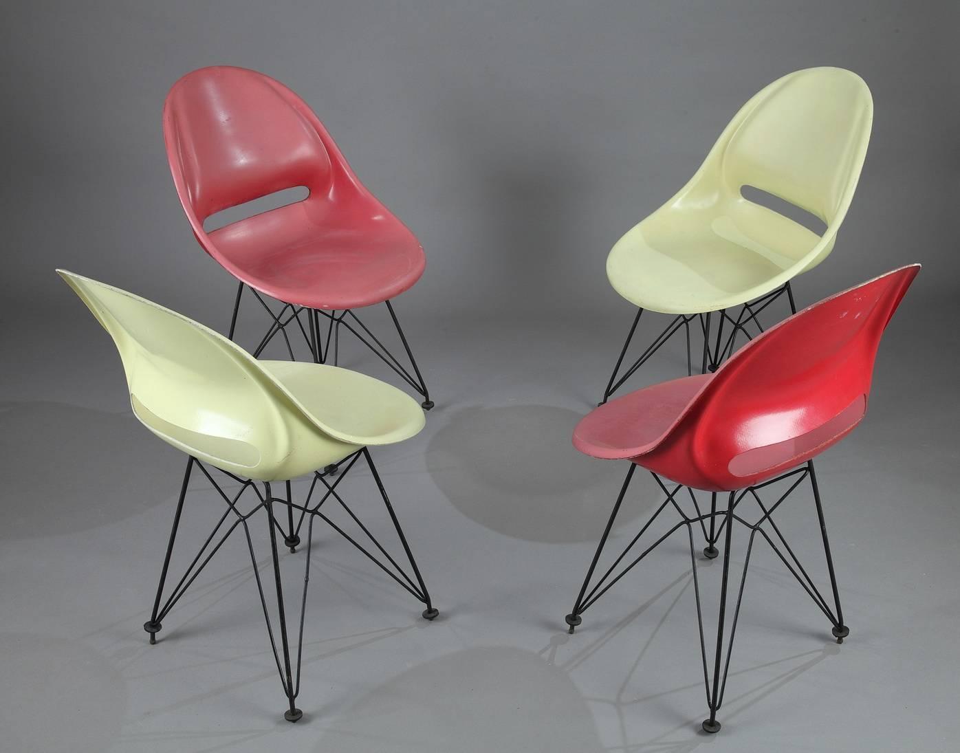 Chaise eames eiffel noire - Copie chaise charles eames ...