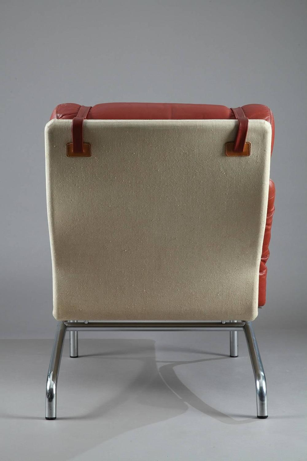 Arne vodder lounge chair by erik j rgensen for sale at 1stdibs for Dimension chaise longue