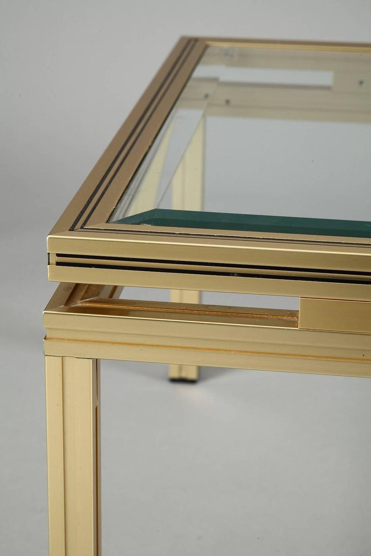 table basse verre pierre vandel. Black Bedroom Furniture Sets. Home Design Ideas