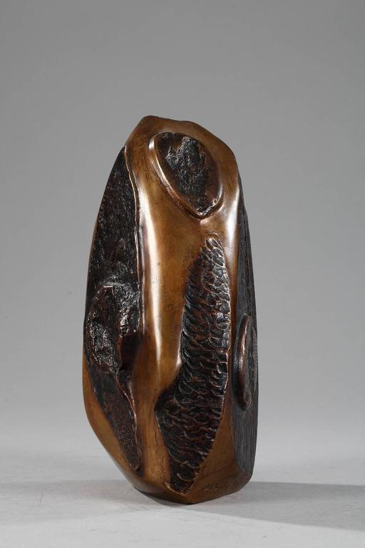 French Late 20th Century Bronze Sculpture Signed J.L. Vetter and Numbered 1/3 For Sale