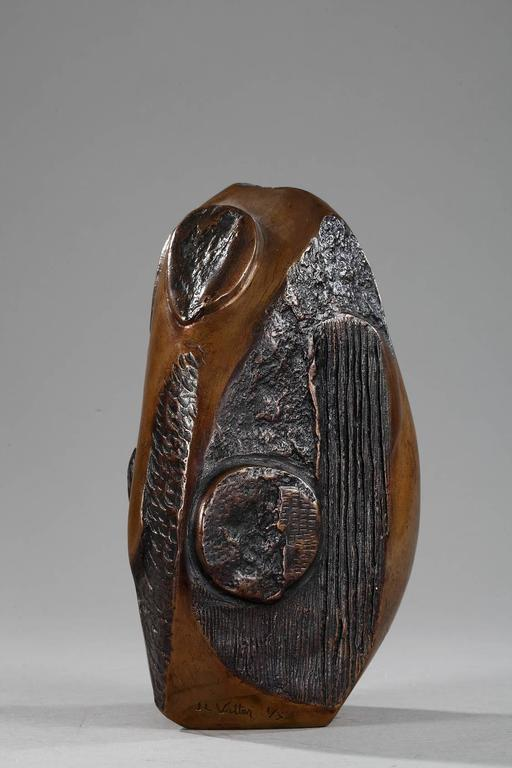 Late 20th Century Bronze Sculpture Signed J.L. Vetter and Numbered 1/3 For Sale 1