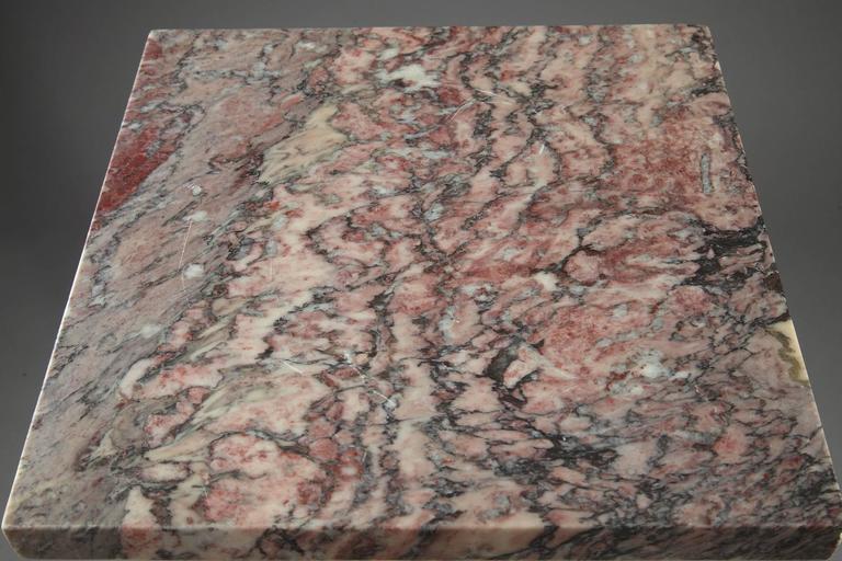 19th Century Napoleon III Brocatelle Marble Column For Sale 3