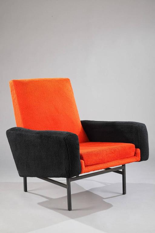 1950s armchair 642 by a r p for steiner for sale at 1stdibs. Black Bedroom Furniture Sets. Home Design Ideas