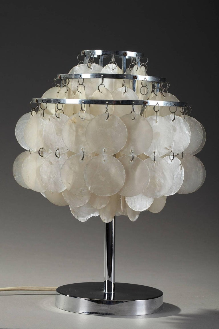 Midcentury verner panton fun table lamp for sale at 1stdibs for Funny lamps for sale