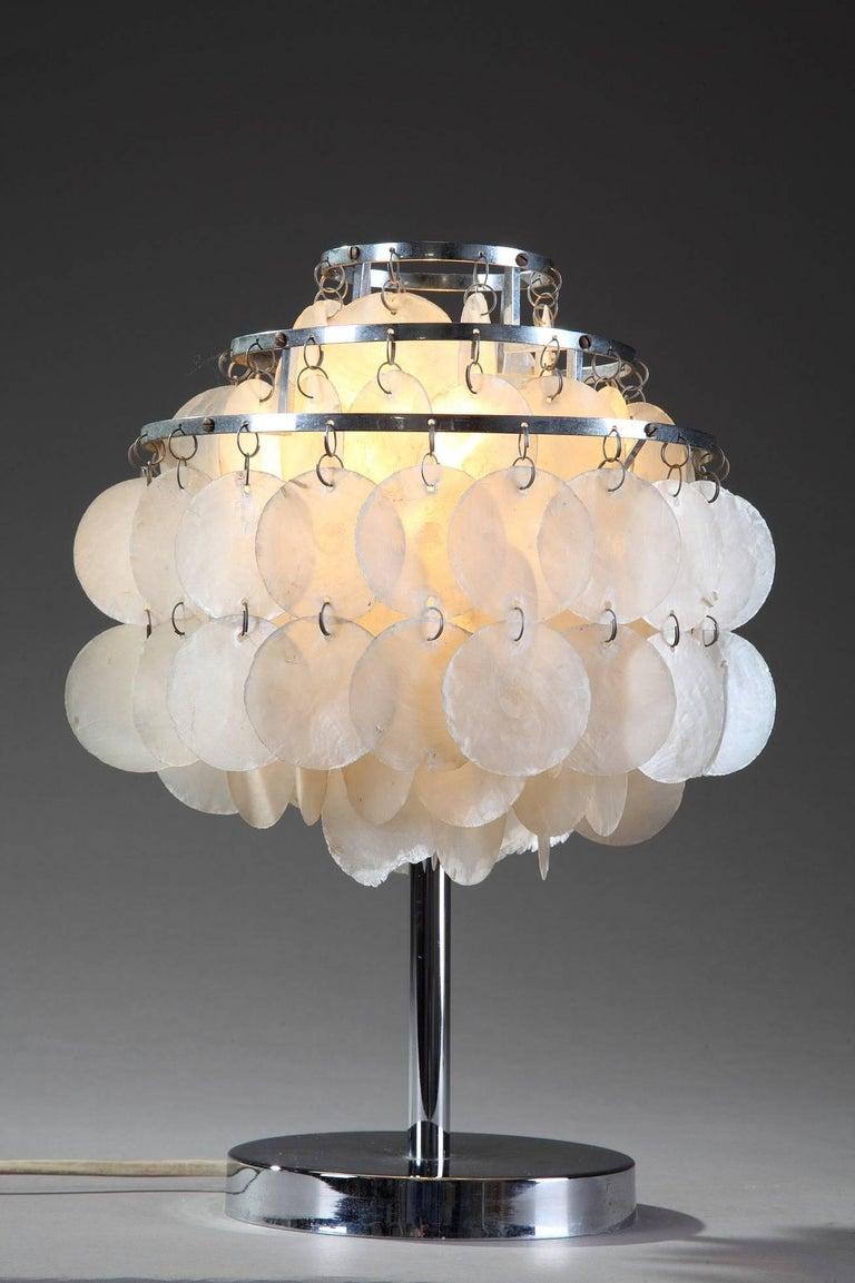 Midcentury Verner Panton Fun Table Lamp For Sale At 1stdibs
