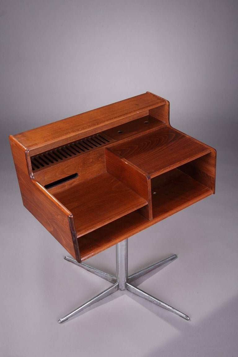 Mid-Century Modern 1960s Italian Swivel Console by Fimsa, Italy For Sale