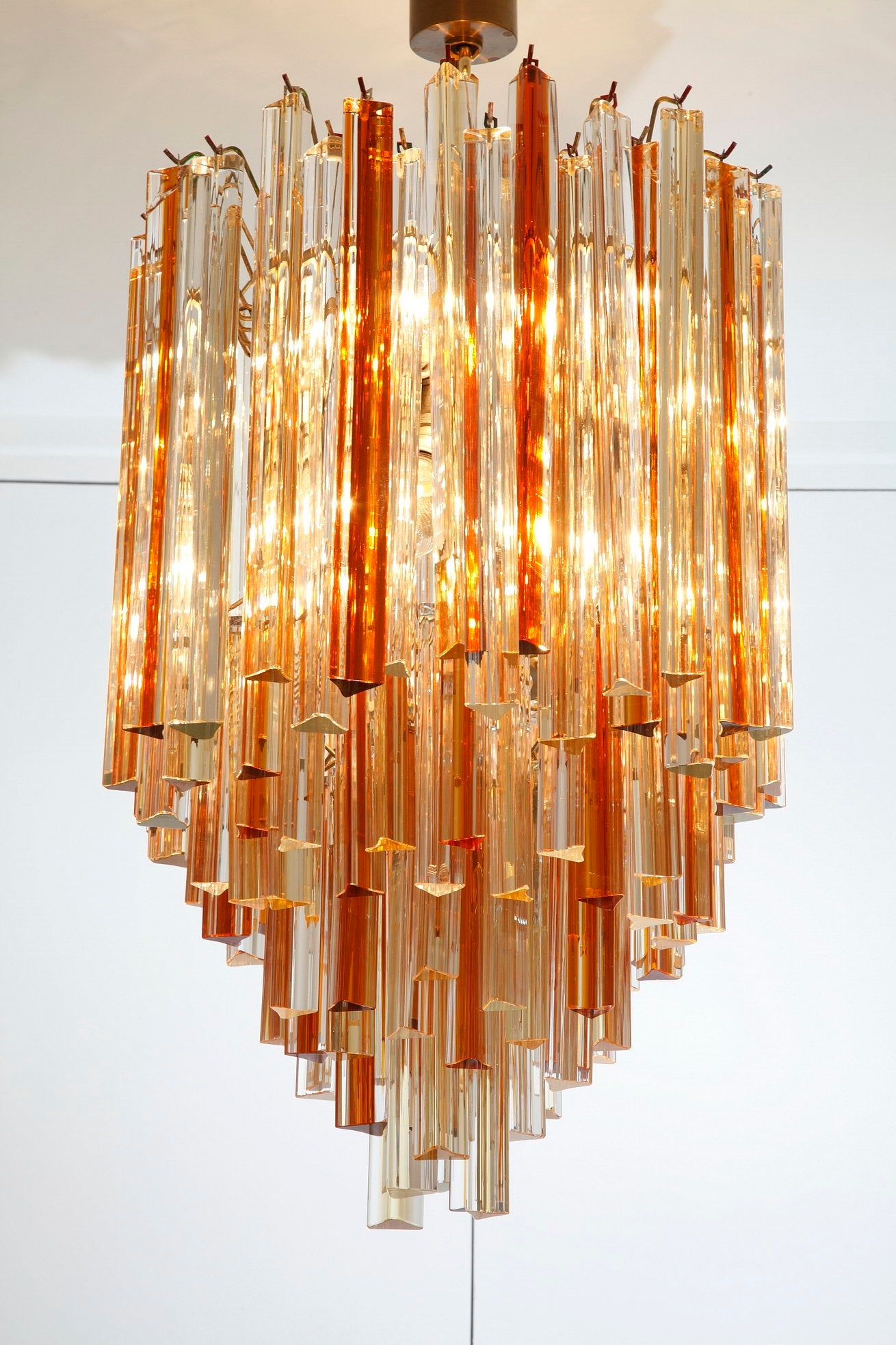 Murano Brass Dining Room Chandeliers & Ceiling Fixtures for