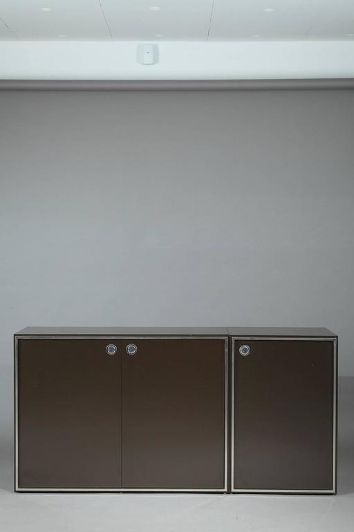 1970s Modular Wall Unit Attributed to Willy Rizzo 10