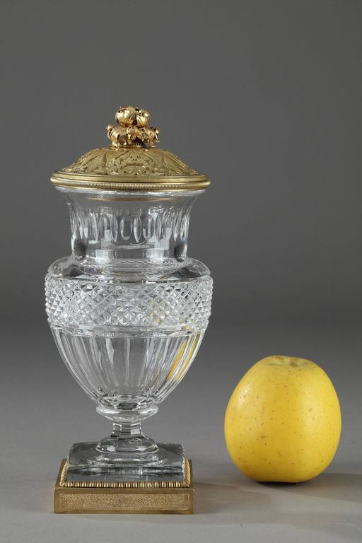19th Century Baccarat Crystal And Gilt Bronze Vase At 1stdibs