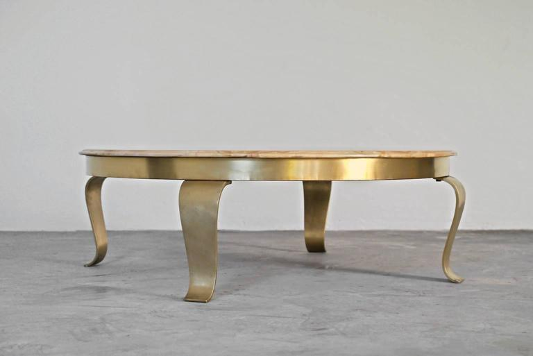 Mexican Muller Brothers, Alabaster And Onyx Coffee Table, Mexico, 1960s For  Sale