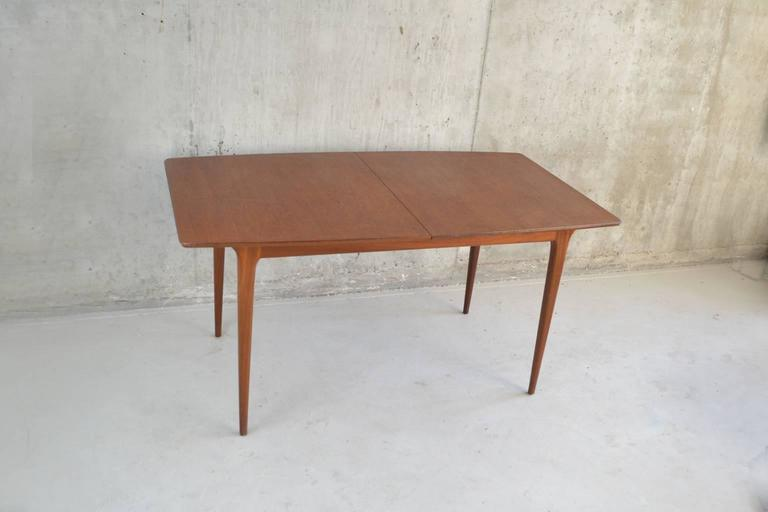 1970 mid century teak dining table by mcintosh of for Dining room kirkcaldy