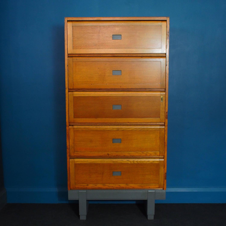 Golden Oak Kitchen Cabinets: Vintage Golden Oak Staverton Sectional Cabinet, 1961 At