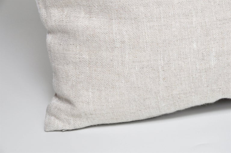 Rare Vintage Christian Dior Silk Scarf with Irish Linen Cushion Pillow For Sale 3