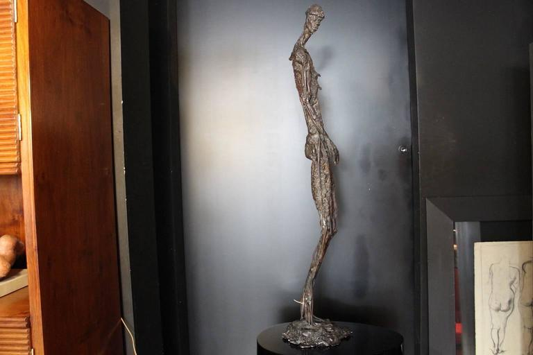 Forged 1990s Modern Sculpture For Sale
