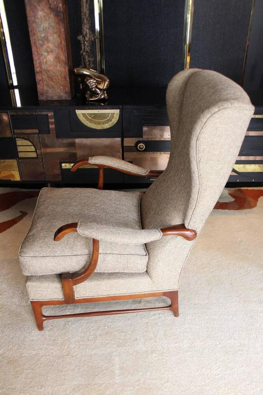 Mid-Century Modern Paolo Buffa 1950s Armchairs For Sale