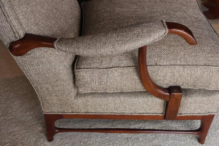 Walnut Paolo Buffa 1950s Armchairs For Sale