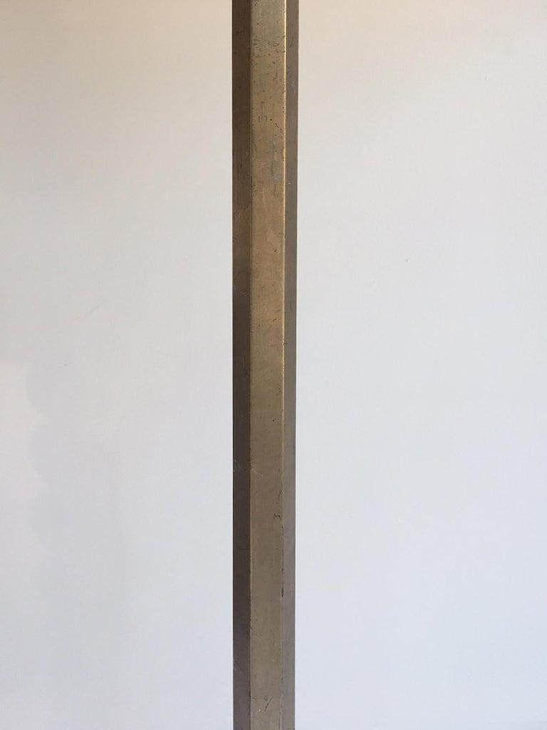 20th Century Art Deco Brass Telescopic Floor Lamp For Sale
