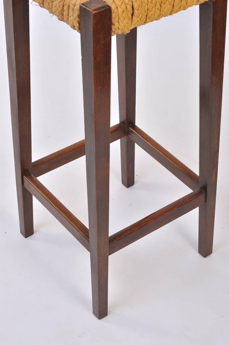 Pair of Bar Stools by Audoux-Minet 8