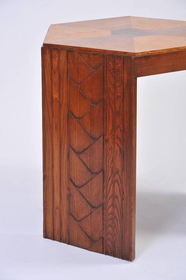 french art deco gu ridon table for sale at 1stdibs. Black Bedroom Furniture Sets. Home Design Ideas