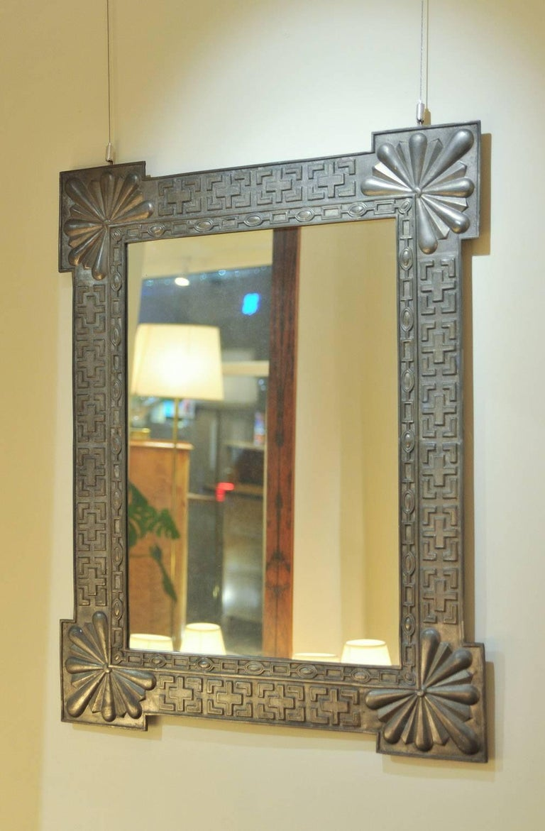Arts and craft cast iron mirror for sale at 1stdibs for The actor s art and craft