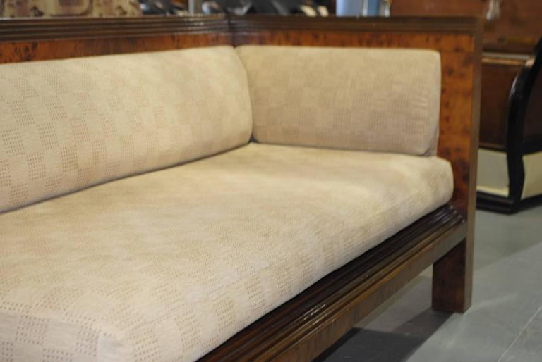 Original art deco chaise at 1stdibs for Art deco style chaise lounge