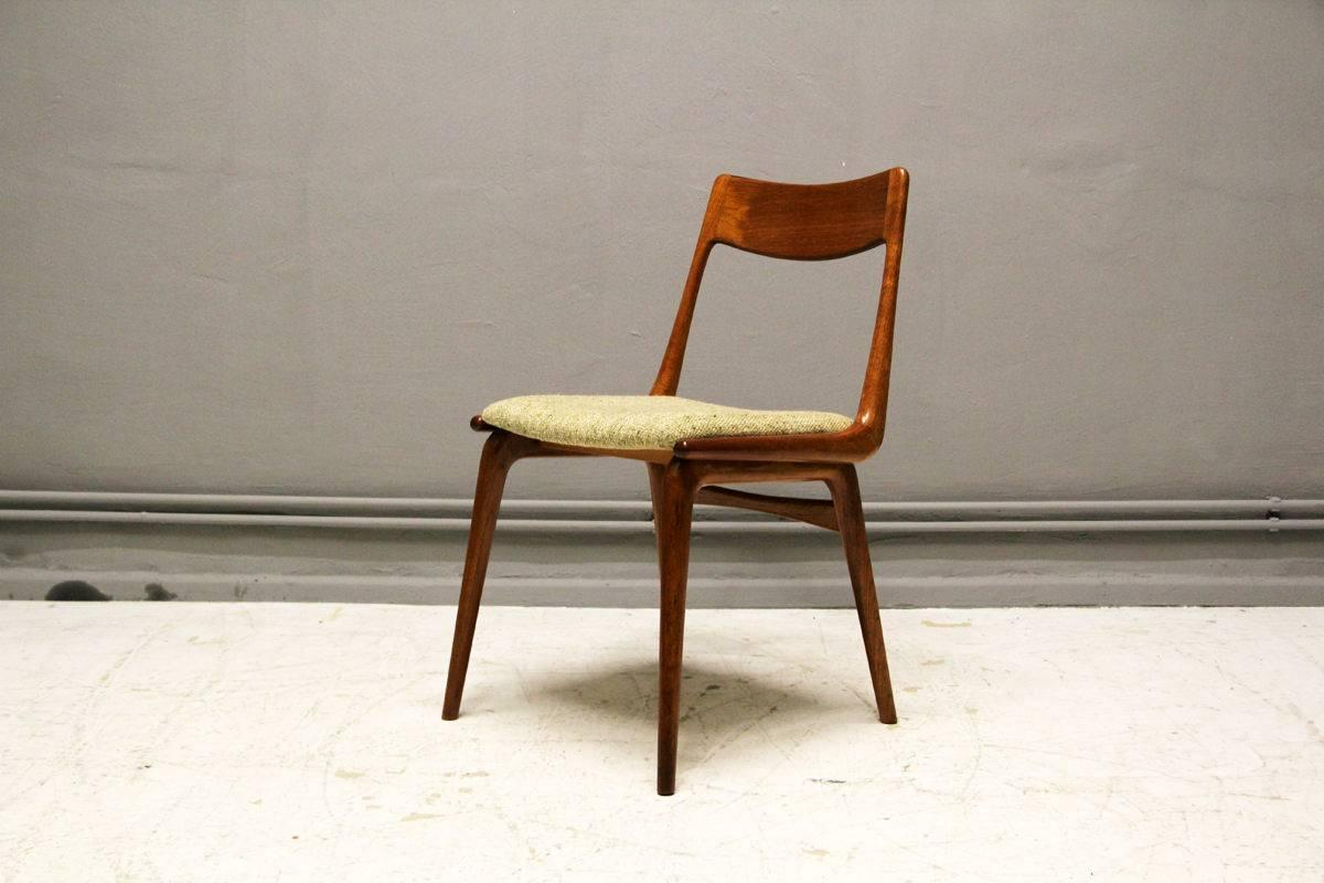 Set Of Two Boomerang Chairs By Erik Christensen For Slagelse M Belv Rk 1960s For Sale At 1stdibs