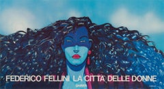 City of Women Original Italian Film Poster, 1980