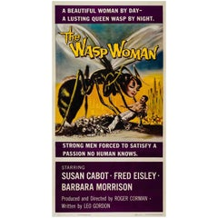 """The Wasp Woman"" Original US Film Movie Poster, Three Sheet, 1959"