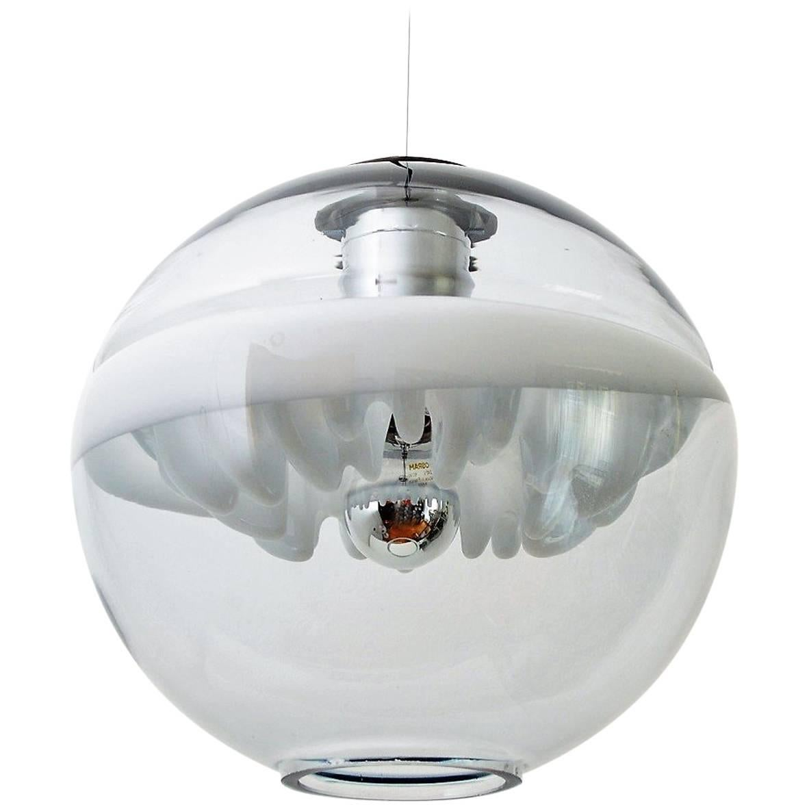 Space Age Pendant Lamp by Toni Zuccheri for Venini, Italy