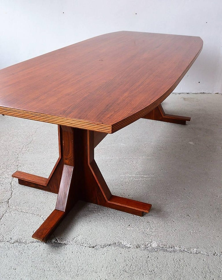 Mid-20th Century Italian Midcentury Dining or Conference Table, 1950s For Sale