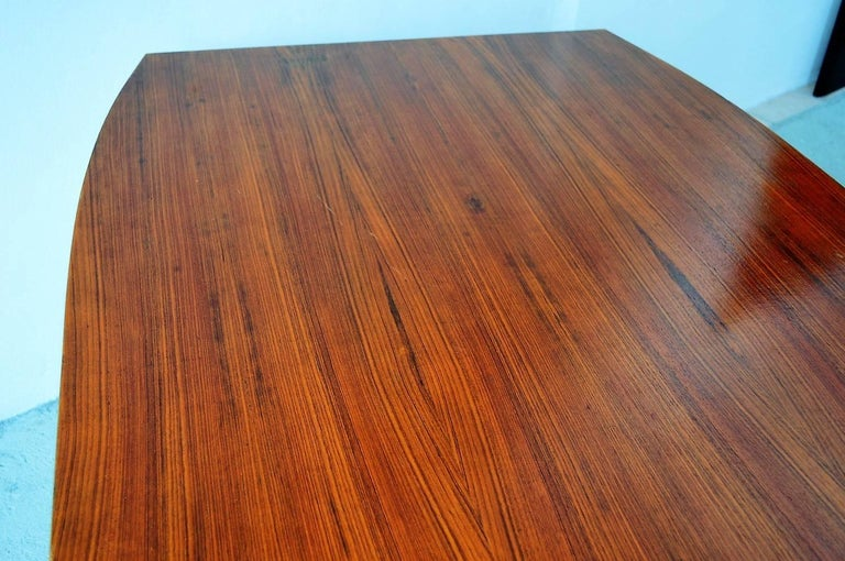 Italian Midcentury Dining or Conference Table, 1950s For Sale 2