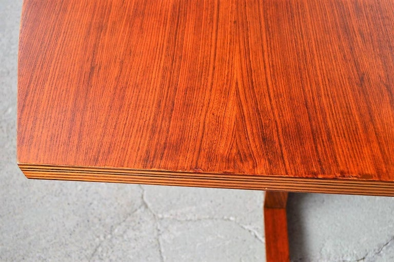 Italian Midcentury Dining or Conference Table, 1950s For Sale 3