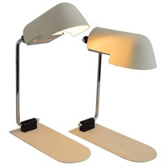 Space Age Table Lamp or Desk Lamp by Danilo Aroldi for Luci, 1975, Set of Two