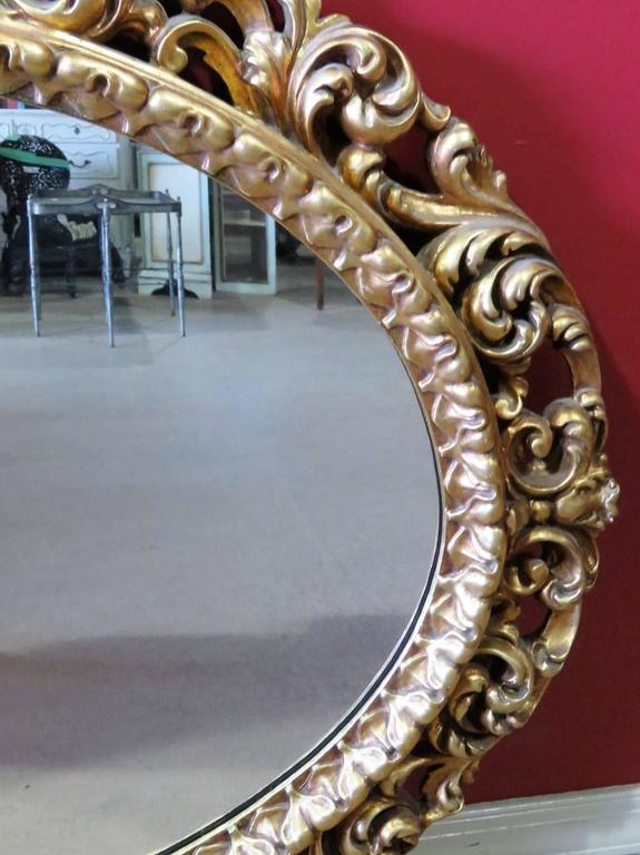 Gilt carved frame.