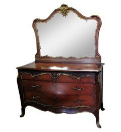 Linke Style Commode with Mirror