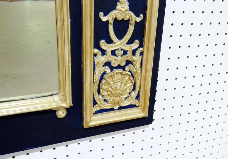 Painted Friedman Brothers Neapolitan Style Mirror For Sale