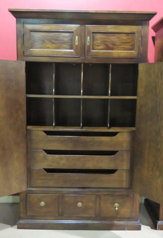 Pair Of Henredon Heritage Wardrobes For Sale At 1stdibs
