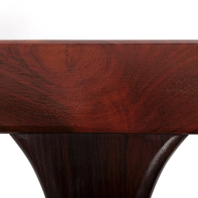20th Century Rosewood Coffee Table with Tiles by Johannes Andersen, CFC Silkeborg, 1960s For Sale